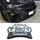 For HAMANN Style E71 Body Kits Car Styling FRP Fiberglass Material Powerful Look Bumper Widened Hood for BMW E71 X6