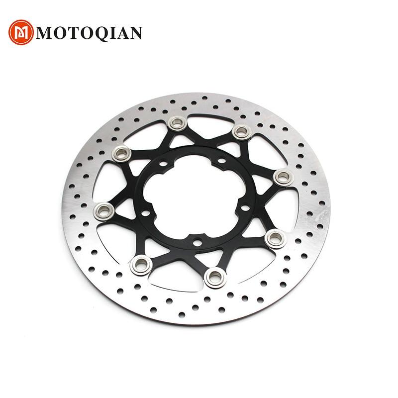 цена на Motorcycle Front Brake Disc Rotors Disk Moto For Suzuki GSXR600 GSXR 600 GSXR-600 K7 K6 Accessories motorbike parts