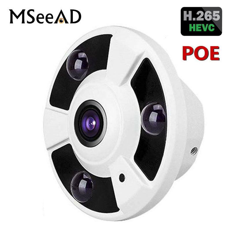 5MP 1.8mm FishEye Lens 2.0MP Panorama View Wide Angle Panoramic 1080P IP Camera 2MP 3MP 5MP With POE Night Vision Onvif H.2655MP 1.8mm FishEye Lens 2.0MP Panorama View Wide Angle Panoramic 1080P IP Camera 2MP 3MP 5MP With POE Night Vision Onvif H.265