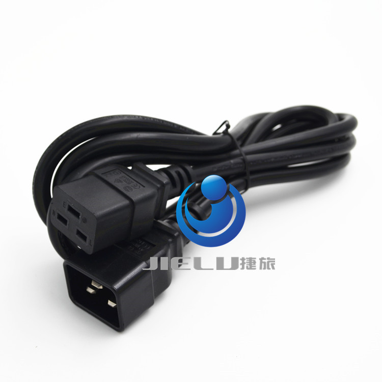 цена на C19 C20 Power Cord Server UPS Power Cable C19 Female to C20 Male power supply cord 3X2.5mm square Power Wire 1.8m,5 pcs