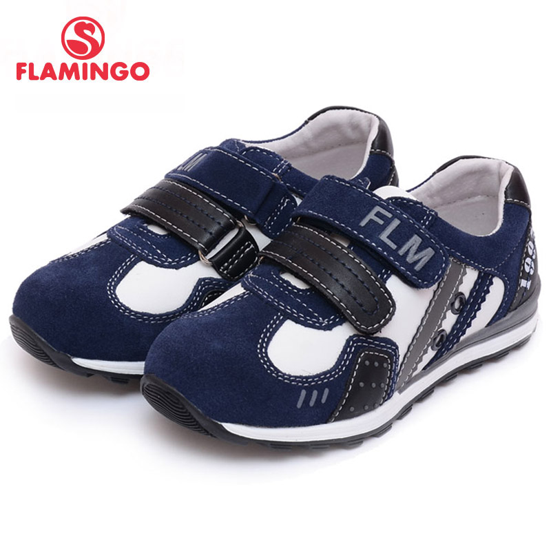 FLAMINGO 100% Russian Famous Brand 2016 New Arrival Spring & Autumn Kids shoes Fashion High Quality children sneakers 61-XP145