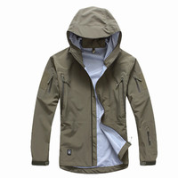 men s military clothing hardshell clothes camouflage army autumn jacket outerwear multicam windbreaker waterproof coats