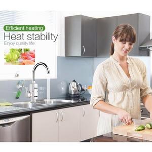 Image 2 - KBAYBO grifo calentador de agua eléctrico para cocina, calentador de agua caliente instantáneo sin depósito, 3000