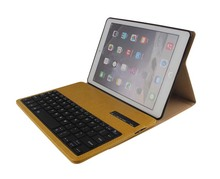 For Apple iPad Air2 6 Tablet New Crazy Horse Removable Wireless Bluetooth Russian/Hebrew/Spanish Keyboard Stand PU Leather Case