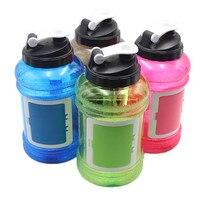 2.2L grote capaciteit 2017New Ontwerp Creatieve en draagbare Sport outdoor Plastic Mijn Flessen Water Filter BPA gratis ketel