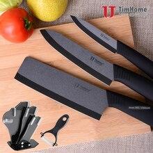 New Arrivals Ceramic Knife Set Zirconia Ceramic Cleaver Knife for kitchen 6 inch + 4″ inch Peeling Fruit Knife