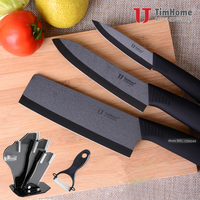 New Arrivals 6 5 Inch Ceramic Knife Timhome Brand Ceramic Cleaver Knife High Quality Zirconia Material
