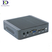 Hot selling Fanless Intel Celeron J1800 up to 2.58GHz 2/4G RAM Mini PC Win7 OS with VAG ,2*USB2.0,Lan tiny desktop ,N80