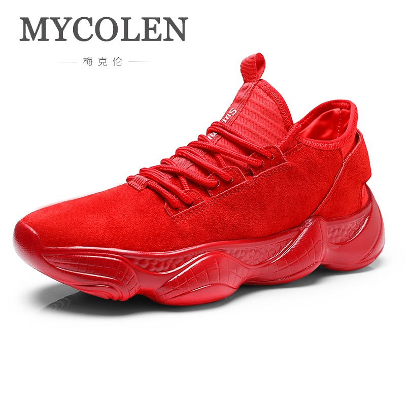 MYCOLEN 2018 Hot Sale Sneakers Lace-Up Casual Shoes Classic Men Shoes Luxury Brand Top Fashion Man'S Footwear Calzado Hombre цены онлайн
