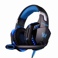 KOTION EACH G2000 Gaming Headphones Stereo Deep Bass Computer Game Headset With Microphone LED Light For