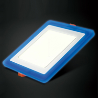20pcs Square LED Panel Downlight 6W 9W 16W 24W 3 Model LED Panel Lights AC85 265V