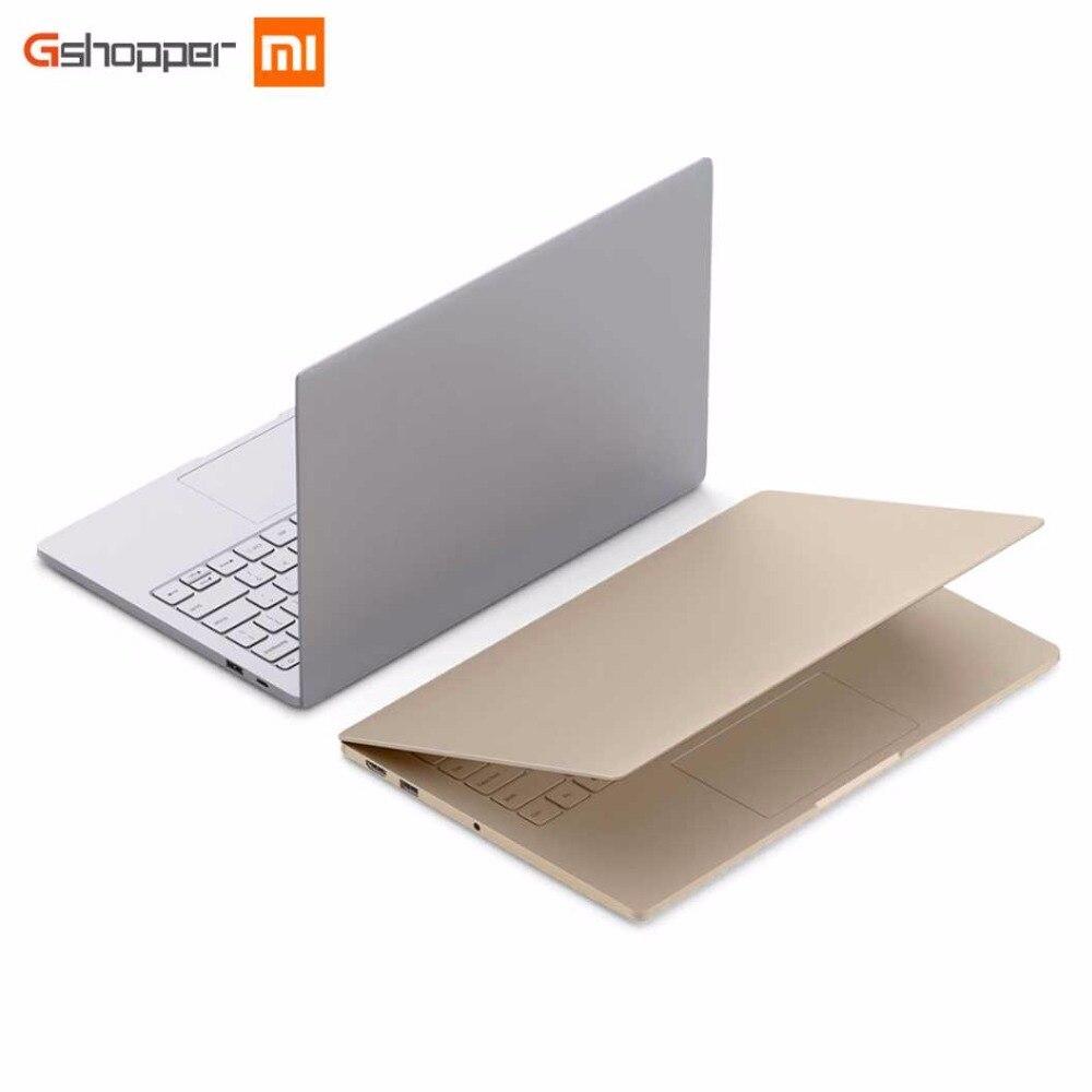 Original Xiaomi Air 12 Notebook 4GB 256GB 12.5 Windows 10 Laptop Graphics 615 SATA SSD 1920x1080 Intel Core m3-7Y30 Dual Core xiaomi mi notebook air 12 5