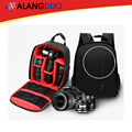 Bolsas mochila para cámara dslr cámara de vídeo multi-funcional fotógrafo foto mochila impermeable de doble hombro para nikon canon