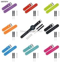 Ootdty замена силиконовые запястье для Garmin Forerunner230/235/630/735 GPS часы Z07 Прямая поставка