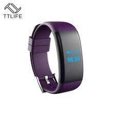 TTLIFE Bluetooth 4.0 спортивные Смарт-часы браслет сердечного ритма трекер сна Мониторы Supprt Камера Водонепроницаемый для iphone Samsung