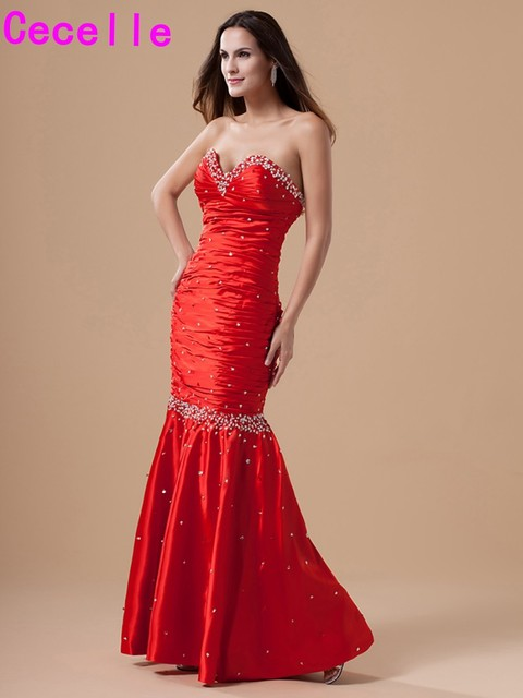 Red Formal Prom Dresses
