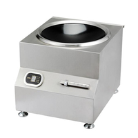 Commercial Induction Cooker 8000W Large Power Electromagnetic Oven Commercial Stainless Steel Stir fry Furnace SMK TSAL