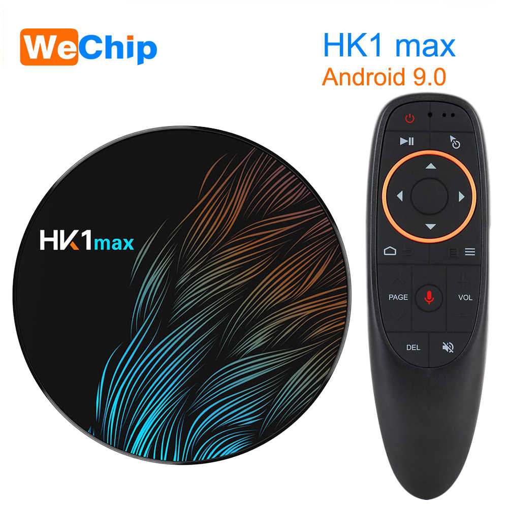 HK1 MAX Smart Android 9,0 Tv Box RK3328 4 Гб 64 Гб 1080 p BT 4,0 4 K 2,4G + 5G Wifi Поддержка Google Play Store Netflix Youtube плеер