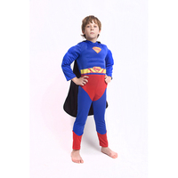 Ruby Children Batman Superman Captain America Costumes Cloak Mask Kids Halloween Party Love Live Cosplay Double sided Costumes