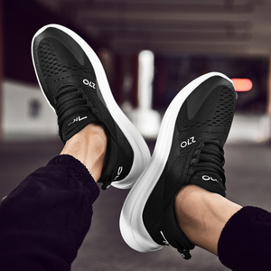 Image 4 - 2019 New men Sneaker Casual Big Size 39 47 summer designer trainers Breathable Comfortable fashion lightweight men shoes #AB1973