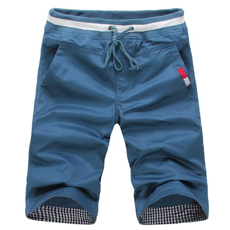 Shorts Mens Bermuda 2018 Summer MAN Beach Light Color Cotton Hot Cargo Men Boardshorts Male Brand MenS Short Casual Fitness
