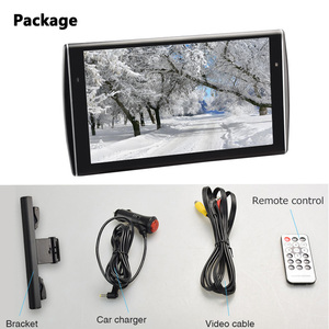 Image 5 - XST 2PCS 11.6 inch Ultra thin Car Headrest Monitor HD 1080P Video LCD Screen MP5 Player With USB/SD/HDMI/FM/Speaker