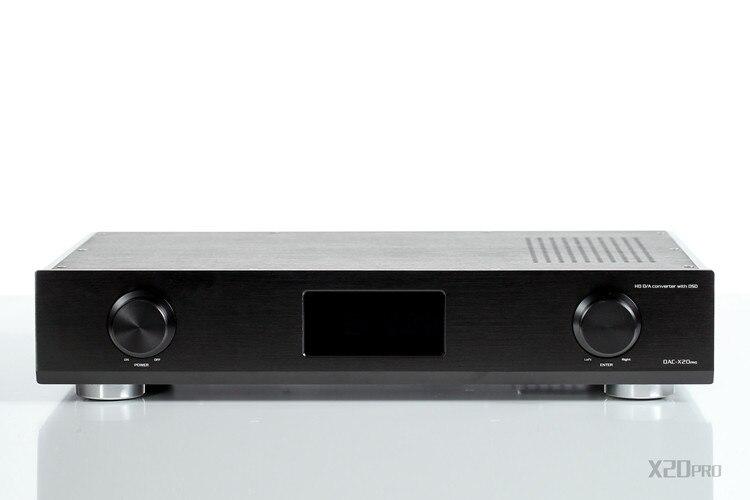 R 069 GUSTARD DAC X20 Pro Hi end Coaxial Optical AES EBU IIS DAC 2*ES9028Pro Chip+XMOS USB DSD DAC PC HiFi 32bit/384KHz