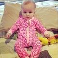 Inverno Bebê Recém-nascido Da Menina do Menino Macacão de Manga Longa Bebê Menina Roupas Quentes Jumpsuit Romper Macacão Pijama Traje Infantil Bebes
