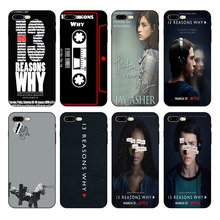 HOUSTMUST Thirteen Reasons Why  Soft case For iPhone 8 8plus XS max XR XS 7 7plus 6 6s 6plus 5 5s SE phone case