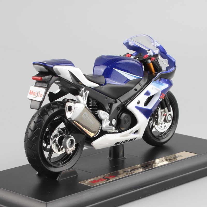 1:18 schaal Kinderen metalen diecast moto rcycle model racing SUZUKI GSX-R 1000 moto sport cars Gratis Wielen Speelgoed Collectie voor jongens