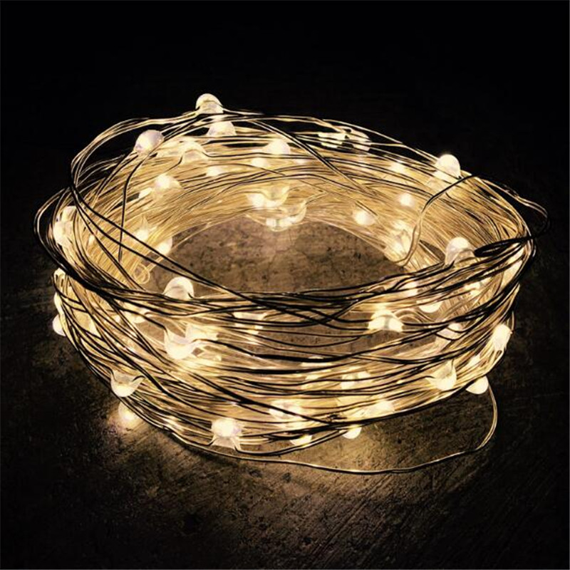 5M 50leds Outdoor Solar Powered Led String Light Fairy Holiday Party Wedding Christmas Garden Patio Waterproof Lights