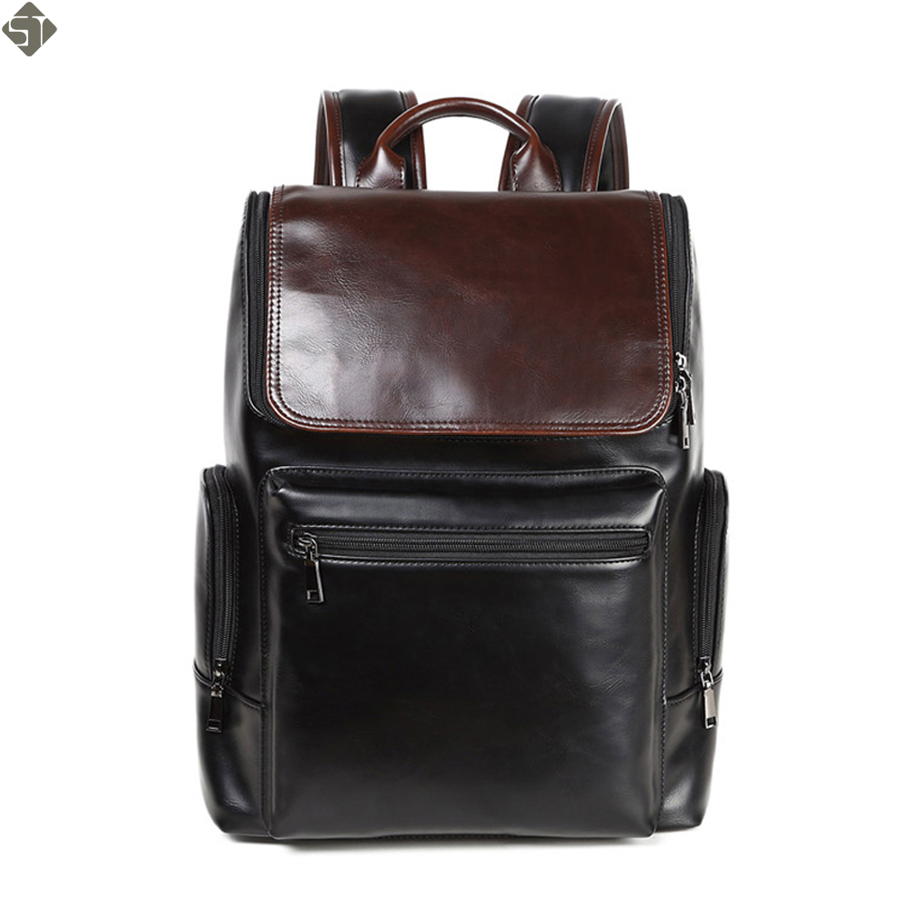 Oily skin mens leather backpacks designers brand backpack bag men Multifunction School laptop backpack men's travel bags new gravity falls backpack casual backpacks teenagers school bag men women s student school bags travel shoulder bag laptop bags
