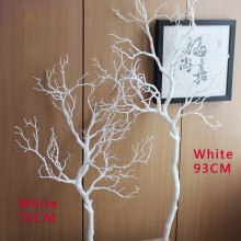 1 шт. высота 70 см или 90 см Искусственный зеленый синий белый пластик маленькое дерево высушенная ветка растение дома свадебное украшение подарок F322