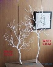 1 ADET Yüksekliği 70 cm veya 90 cm Yapay Yeşil Mavi Beyaz Plastik küçük Ağaç Kurutulmuş Şube Bitki Ev Düğün dekorasyon Hediye F322