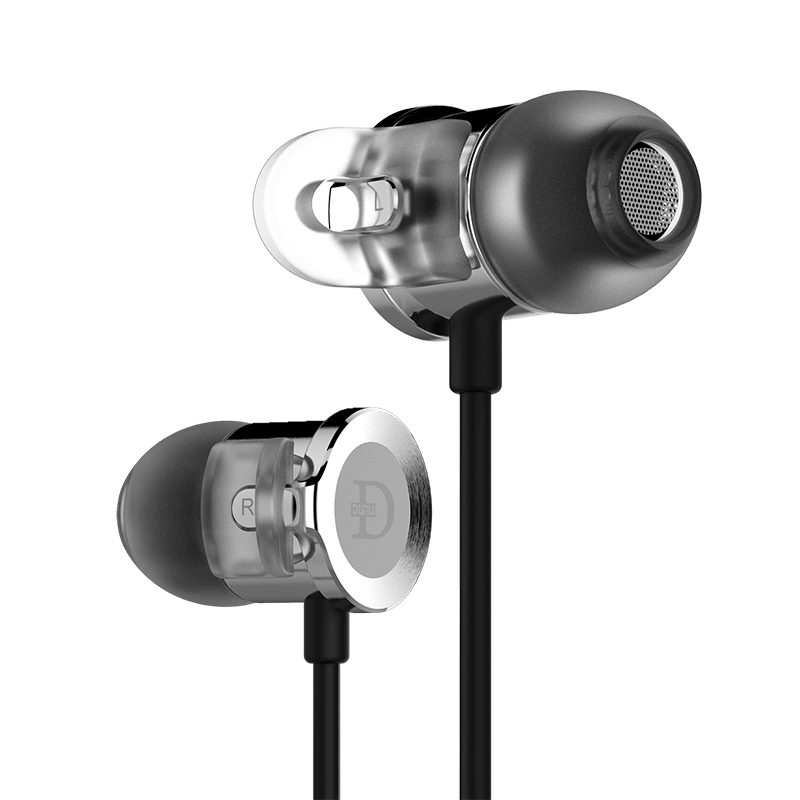 DUNU DN 2000J Hi Res AUDIO Dual Balanced Armature Single Dynamic Hybrid HiFi in Ear Earphone