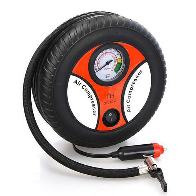 Mini Portable Car Air Compressor 12v Auto Inflatable Pumps Electric Tire Inflaters YAN88