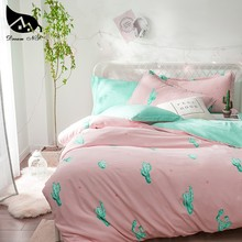 Dream NS Cactus Bedding Set For Nordic Simple Cover Pillowcase Warm Soft Home Bedroom Living Room Cover Set Bedclothes AJF(China)