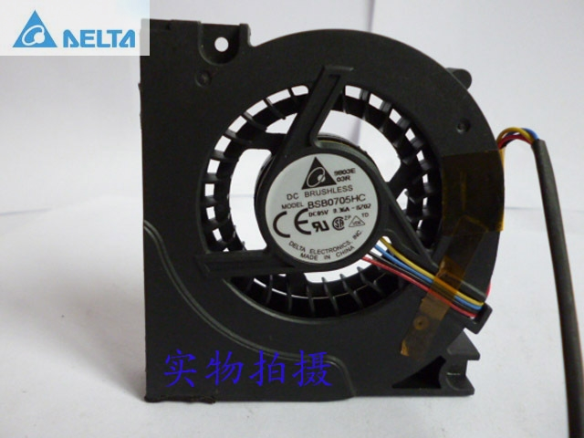 Delta notebook cooling  fan BSB0705HC 4 5V 0.36A-double ball bearing original delta afb0912shf 9032 9cm 12v 0 90a dual ball bearing cooling fan