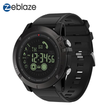 Zeblaze VIBE3 Flaggschiff Robuste Bluetooth Smart Uhr 33 monate Standby zeit 24h Alle Wetter Überwachung Smartwatch Für Android IOS