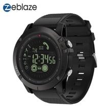 Zeblaze reloj inteligente insignia VIBE3, resistente, con Bluetooth, 33 meses de tiempo en espera, 24h, control del tiempo, para Android IOS