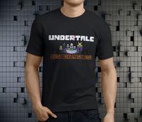Undertale Characters Alphys Undyne Papyrus Men S Black T Shirt Size S 3XL