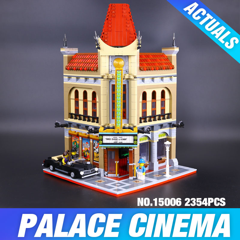 New LEPIN 15006 2354pcs Palace Cinema Model Building Blocks set Bricks Toys Compatible with 10232