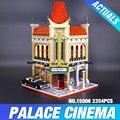 Nueva LEPIN 15006 2354 unids Palacio Cine Modelo Building Blocks establece Ladrillos Juguetes Compatible con 10232