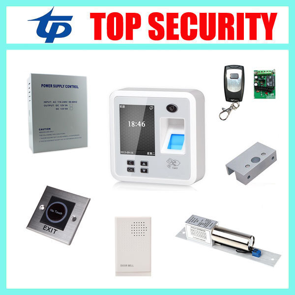 TCP/IP biometric fingerprint access control with RFID card reader fingerprint door lock door control system with bolt lock outdoor mf 13 56mhz weigand 26 door access control rfid card reader with two led lights