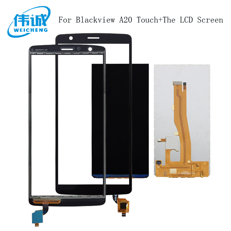 WEICHENG 5.5For BlackView A20 LCD Display+Touch Screen Digitizer for BlackView A20 Display Lcd Spare Parts +ToolsWEICHENG 5.5For BlackView A20 LCD Display+Touch Screen Digitizer for BlackView A20 Display Lcd Spare Parts +Tools