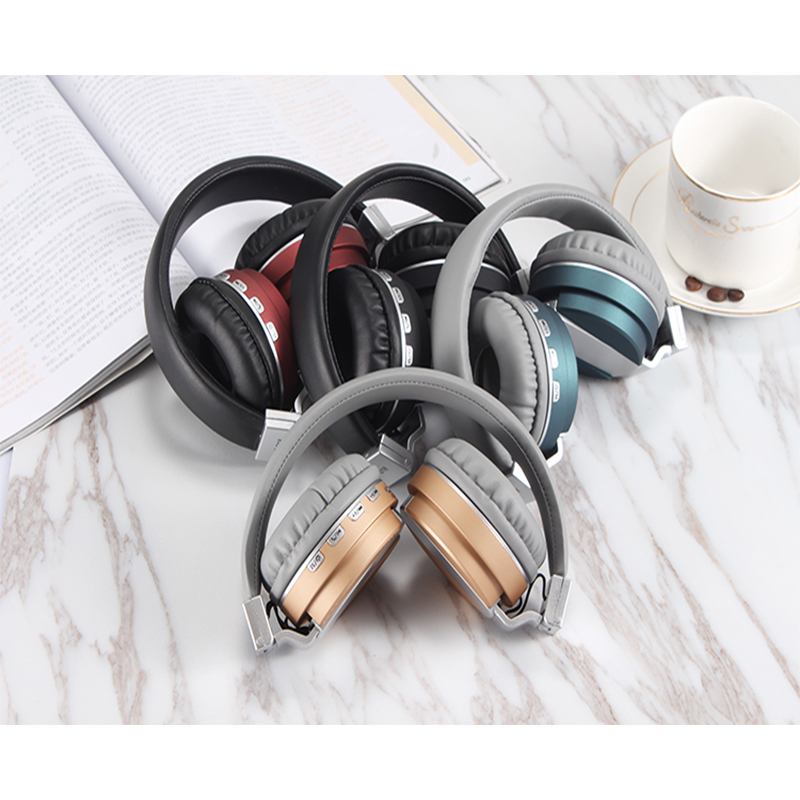 Fashion Stereo Foldable Wireless Headphone Bluetooth Headset TF Card FE-018 Multi-function Headphone With Mic For iPhone Xiaomi s450 foldable wireless stereo bluetooth v2 1 edr headband headphone w fm tf mic purple