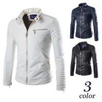 New Men Dropshipping high grade Leather Jacket Suede long sleeves Jacket Casual top Coat Fitness Fashion Male Clothing big size