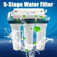 5 Stage Ultrafiltration Water Purifier Home Kitchen Straight Drinking Filter PP Cotton Coconut Shell Wall mounted ABS Shell