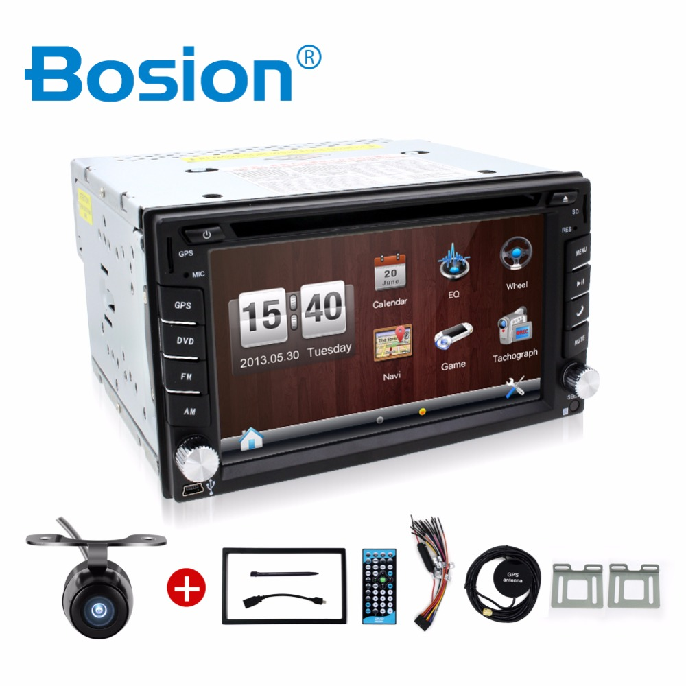 Car Electronic 2 din New universal Car Radio Double 2 din Car DVD Player GPS Navigation In dash Car PC Stereo video+Free Map