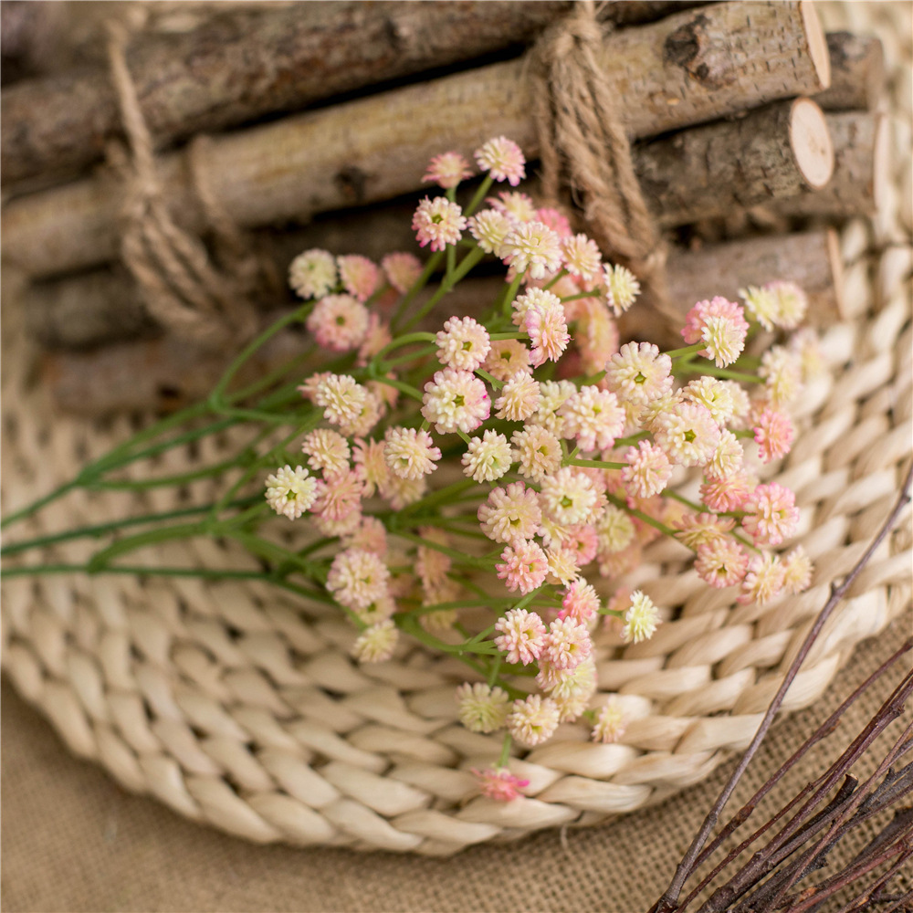 Klonca Fresh Natural Silk Plastic Flower 66cm 135pcs bouquet Gypsophila Fake Flower Artificial for Home Decoration Party Gift in Artificial Dried Flowers from Home Garden